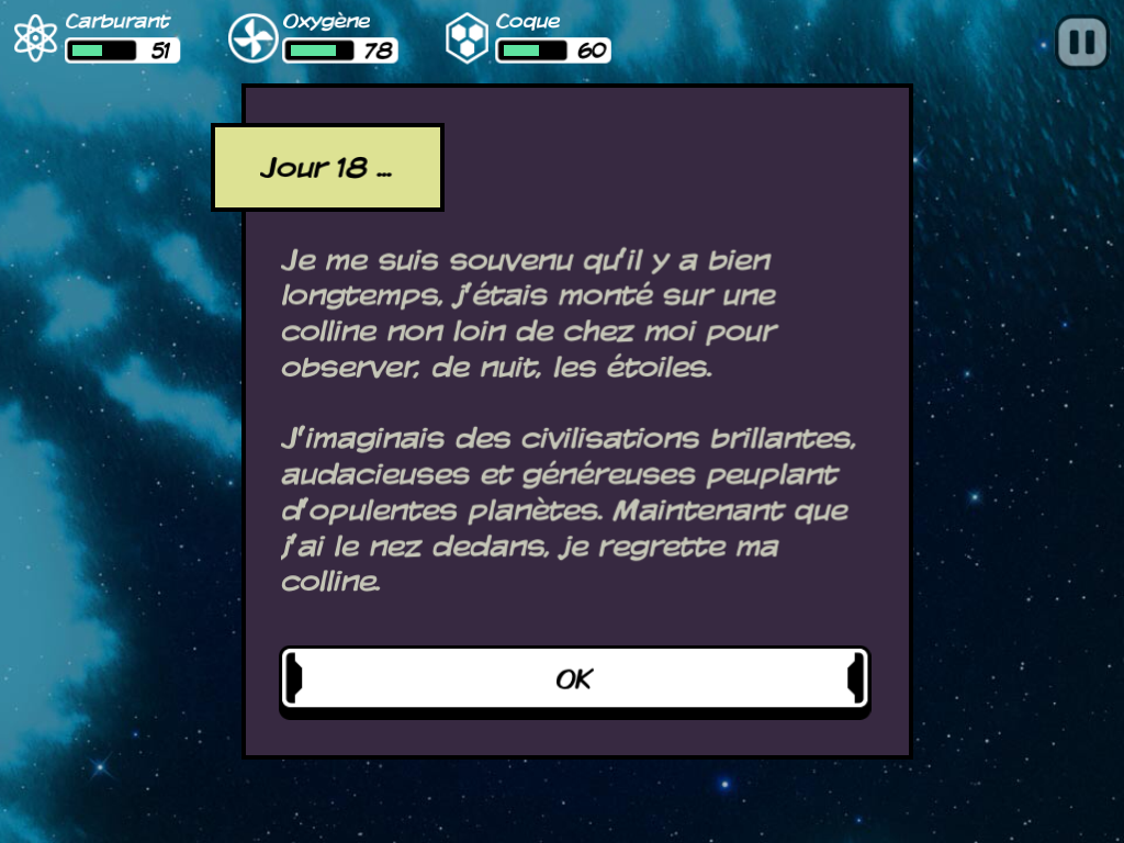 Screenshot de Out There (iPad)